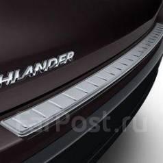 Накладка на бампер. Toyota Highlander