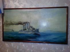 "Картина "" крейсер 1-го ранга "" Аскольд "". Оригинал"