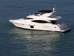 Продается моторная яхта PAMA 63 / Пама 63 /. Год: 2008 год, длина 19,30м., двигатель стационарный, 1 410,00л.с., дизель. Под заказ