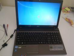 "Acer Aspire 5750G. 15.6"", ОЗУ 4 Гб, диск 500Гб, WiFi, Bluetooth"