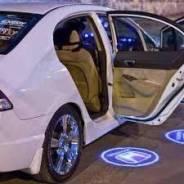 """Светодиодная подсветка в дверь (штатная) с логотипом """" Honda """""""