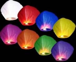 Продам небесные фонарики желаний