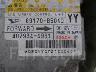 Блок управления airbag. Daihatsu Hijet, S331V Двигатель KFVE