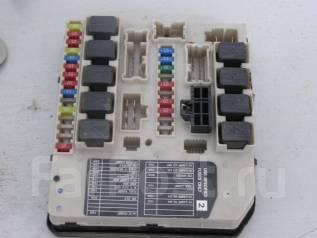 Блок предохранителей. Nissan Tiida Двигатель HR15DE