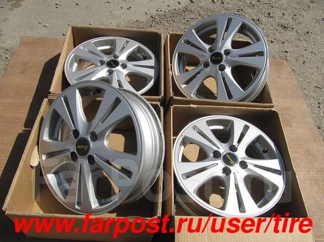 Диски на авто R15 Reverline Palette, Solio, Zest, Life, Stella, R1, R2. 4.5x15, 4x100.00, ET45, ЦО 67,0мм.