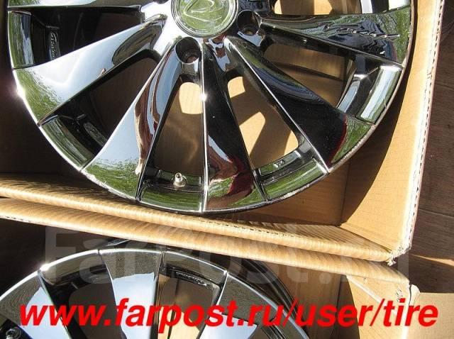Хром диски Rays R16 Mobilio, Vento, Corolla, Spectra, Jetta, i20, One. 6.5x16, 4x100.00, ET45, ЦО 65,0мм.