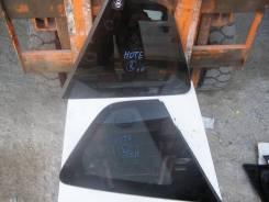 Стекло боковое. Nissan Note, E11 Двигатель HR15DE
