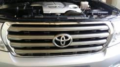 Решетка радиатора. Toyota Land Cruiser, UZJ200W, VDJ200, J200, GRJ200, URJ200, UZJ200 Двигатели: 3URFE, 1VDFTV, 1GRFE, 2UZFE