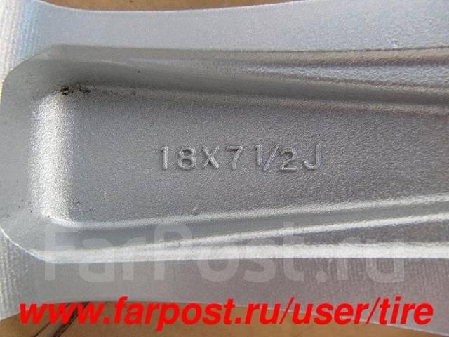 Диски R18 Advan CR-V, CX-7, Teana, Odyssey, Murano, Mazda 3, 6. 7.5x18, 5x114.30, ET50, ЦО 73,0мм.