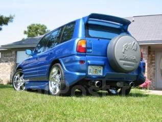 Накладка на бампер. Toyota RAV4, SXA10