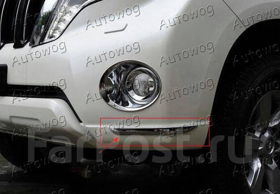Бампер. Toyota Land Cruiser Prado
