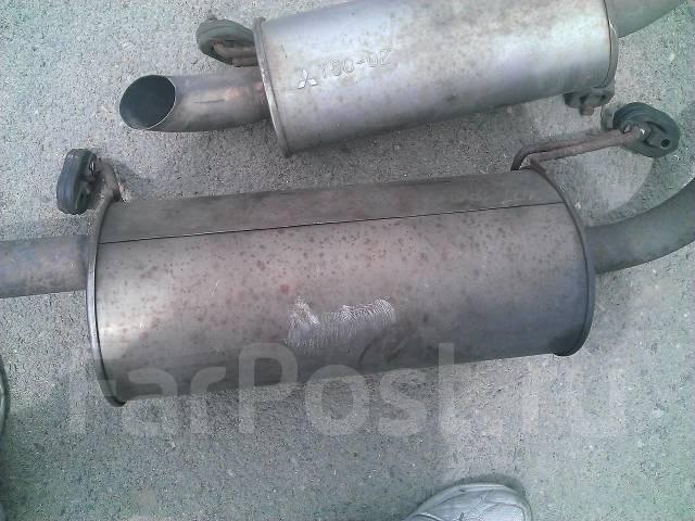 Глушитель. Mitsubishi Pajero, V73W, V75W, V78W, V77W, KH Двигатель 4M41