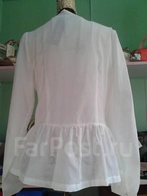 8e375fe1a2c Модная винтажная блузка с баской и кружевом ручной работы - Основная ...
