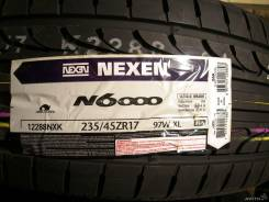 Nexen N6000. Летние, без износа, 4 шт. Под заказ
