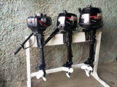 Hangkai. 3,50л.с., 2х тактный, бензин, нога S (381 мм), Год: 2017 год