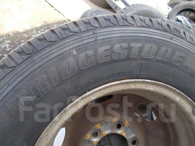 203. Отличный комплект грузовых колес 195/80/15 103/101L LT лето!. 5.5x15 6x139.70 ЦО 100,0мм.