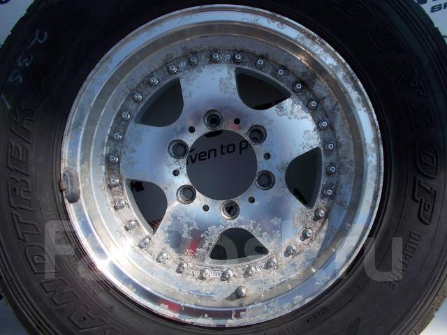 206. Бодрый комплект джиповских колес 235/70/16 лето на литье!. 7.0x16 6x139.70 ET25