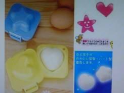 "Формочки для яиц или риса ""Звёздочка + Сердце"""