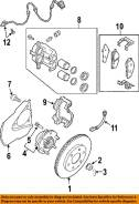 Шпилька ступицы. Nissan: Navara, Titan, Armada, Pathfinder, Frontier, Xterra Infiniti QX56, JA60 Двигатель VK56DE