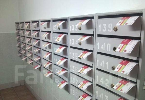 Эффективность листовок по почтовым ящикам