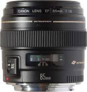 Canon EF 85 f/1.8mm. Для Canon, диаметр фильтра 58 мм