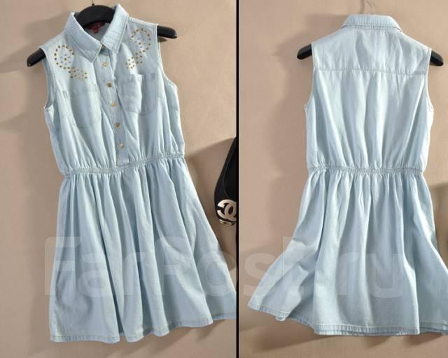 Платье летнее джинсовое фото