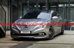 Обвес кузова аэродинамический. Hyundai Sonata. Под заказ