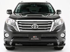 Решетка радиатора. Toyota Land Cruiser Prado, GDJ150, GDJ150L, GDJ150W, GRJ150, GRJ150L, GRJ150W, KDJ150, KDJ150L, LJ150, TRJ150, TRJ150L, TRJ150W. По...