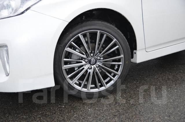 Шикарные новые диски 5х100 +48 Prius Allion Caldina Wish Premio Subaru. 7.5x17, 5x100.00, ET48, ЦО 73,1мм. Под заказ
