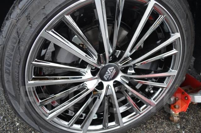 Шикарные новые диски 5х100 +48 Prius Allion Caldina Wish Premio Subaru. 7.5x17, 5x100.00, ET48, ЦО 73,1мм.