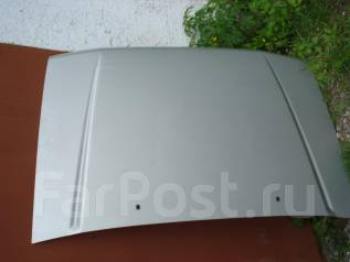 Капот. Mitsubishi Pajero, V45W Двигатели: 6G74, 6G74GDI