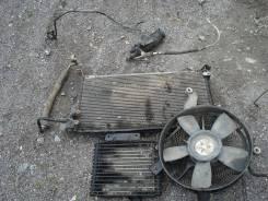 Радиатор кондиционера. Mitsubishi Pajero, V46W, V46WG Двигатель 4M40