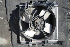 Радиатор охлаждения двигателя. Mazda Demio, DW3W Двигатель B3ME