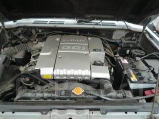 Двигатель в сборе. Mitsubishi Pajero, V45W Двигатели: 6G74, 6G74GDI, GDI
