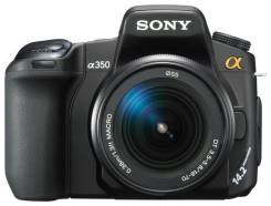 Sony Alpha DSLR-A350 Kit. 10 - 14.9 Мп, зум: 14х и более