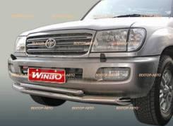 Кенгурятники. Toyota Land Cruiser, UZJ100, HDJ100L, FZJ100, UZJ100L, UZJ100W, J100, HDJ100 Двигатели: 2UZFE, 1HDFTE, 1FZFE, 1HDT