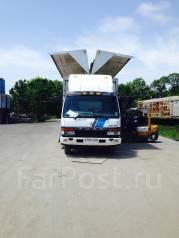 Грузоперевозки по городу и краю фургонами(бабочками)до7 тонн.