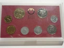 Австрия Набор монет 1990 г. 36,67 шиллингов ПРУФ