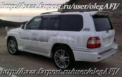 Спойлер. Toyota Land Cruiser Cygnus, UZJ100W Toyota Land Cruiser, UZJ100, UZJ100W Lexus LX470, UZJ100, UZJ100W Двигатель 2UZFE