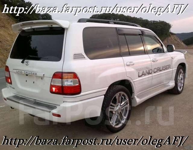 Спойлер. Toyota Land Cruiser, UZJ100, UZJ100W Toyota Land Cruiser Cygnus, UZJ100W Lexus LX470, UZJ100 Двигатель 2UZFE