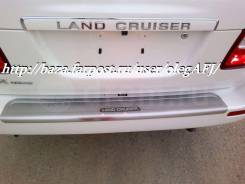 Накладка на бампер. Toyota Land Cruiser, UZJ100 Toyota Land Cruiser Cygnus Двигатель 2UZFE. Под заказ