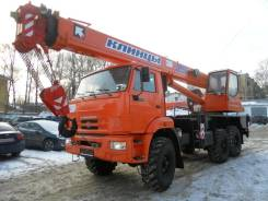 Клинцы КС-55713-5К. Автокран -1 на шасси Камаз 43118, 10 000 куб. см., 25 000 кг., 21 м.