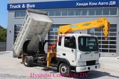 Hyundai HD120. самосвал с манипулятором, 5 890 куб. см., 5 000 кг.