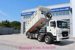 Hyundai HD370. Самосвал 8x4 25000 кг, 12 920 куб. см., 25 000 кг.