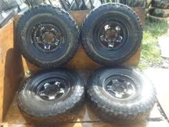 """Большие колеса с Toyota Land Cruiser 80 R16. 7.0x16"""" 6x139.70 ET0"""