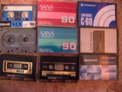 Приму в дар аудиокассеты, бобины