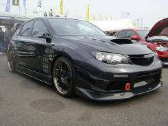 Обвес кузова аэродинамический. Subaru Impreza WRX STI, GRB