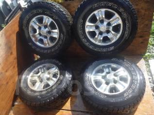 """Большие колеса с Toyota Land Cruiser 100 R16. 8.0x16"""" 5x150.00 ET2 ЦО 150,0мм."""