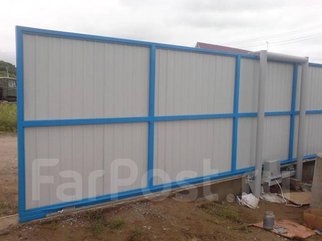 Стальные-металические двери, гаражные ворота, решетки, ограждения, заборы