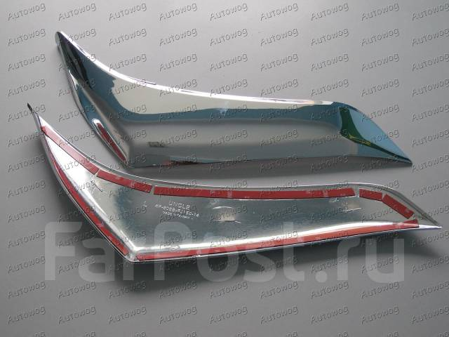 Ресницы фар Prado 2014 Рестайлинг / toyota prado 150 / prado150. Toyota Land Cruiser Prado